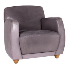 Cor Dio Leather Armchair Gray