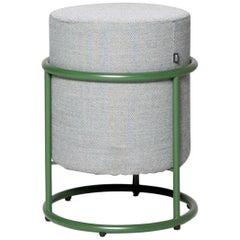 COR Drop Designer Fabric Stool Green Pauline Deltour Stool