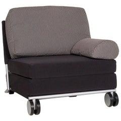 COR Fabric Armchair Blue Dark Blue Sleep Function Function