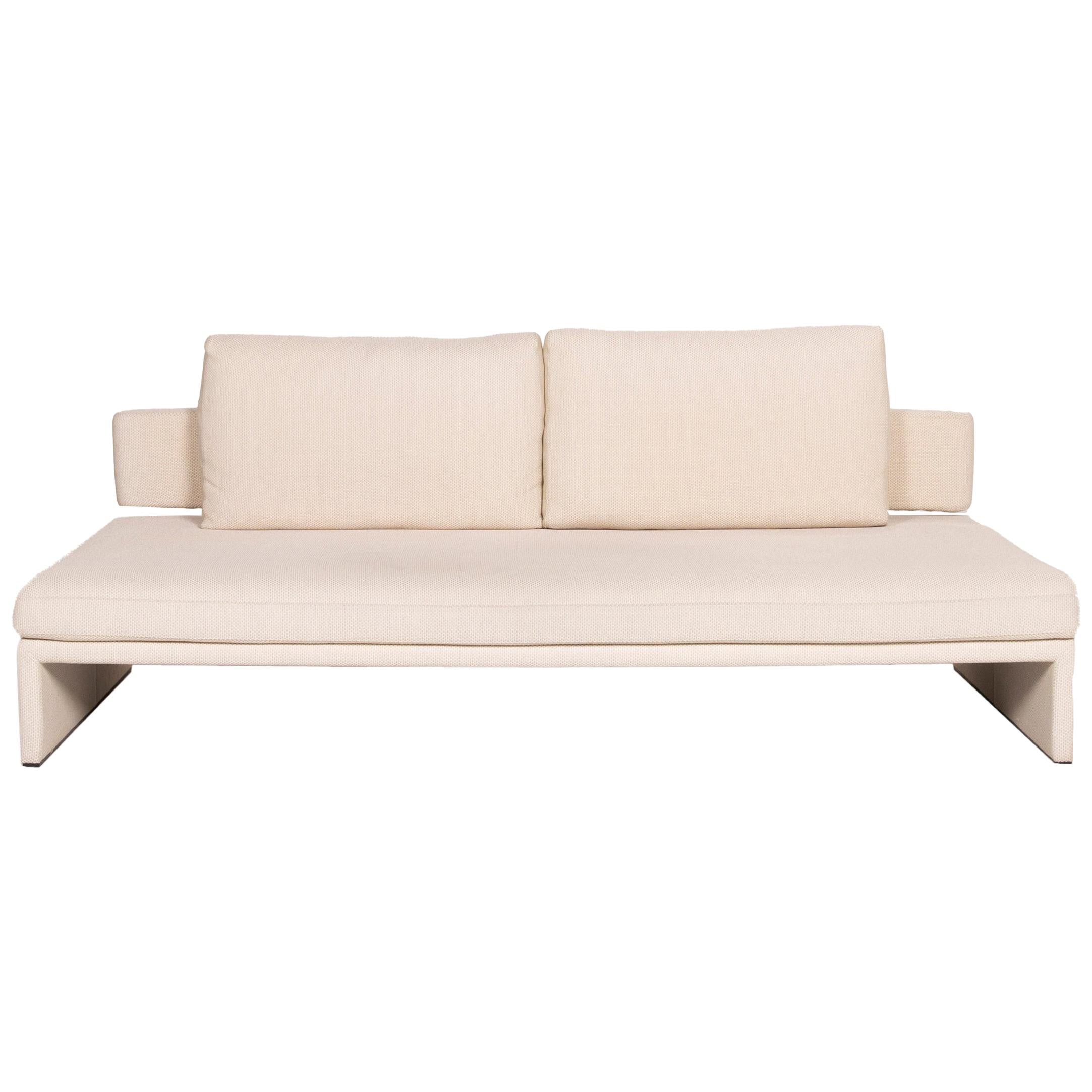 COR Fabric Sofa Cream Three-Seater