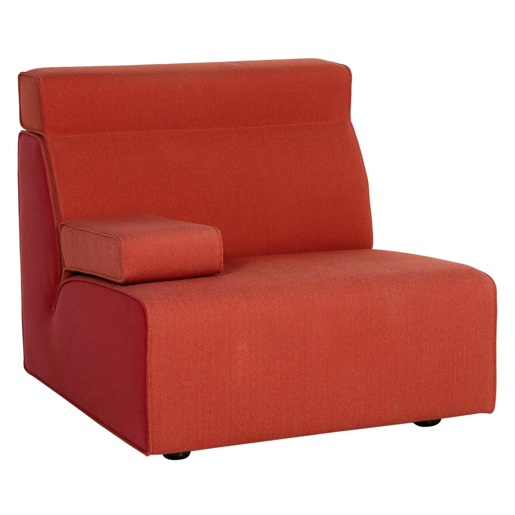 Cor Kelp Fabric Armchair Orange Modular