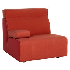 Cor Kelp Fabric Armchair Orange Modular