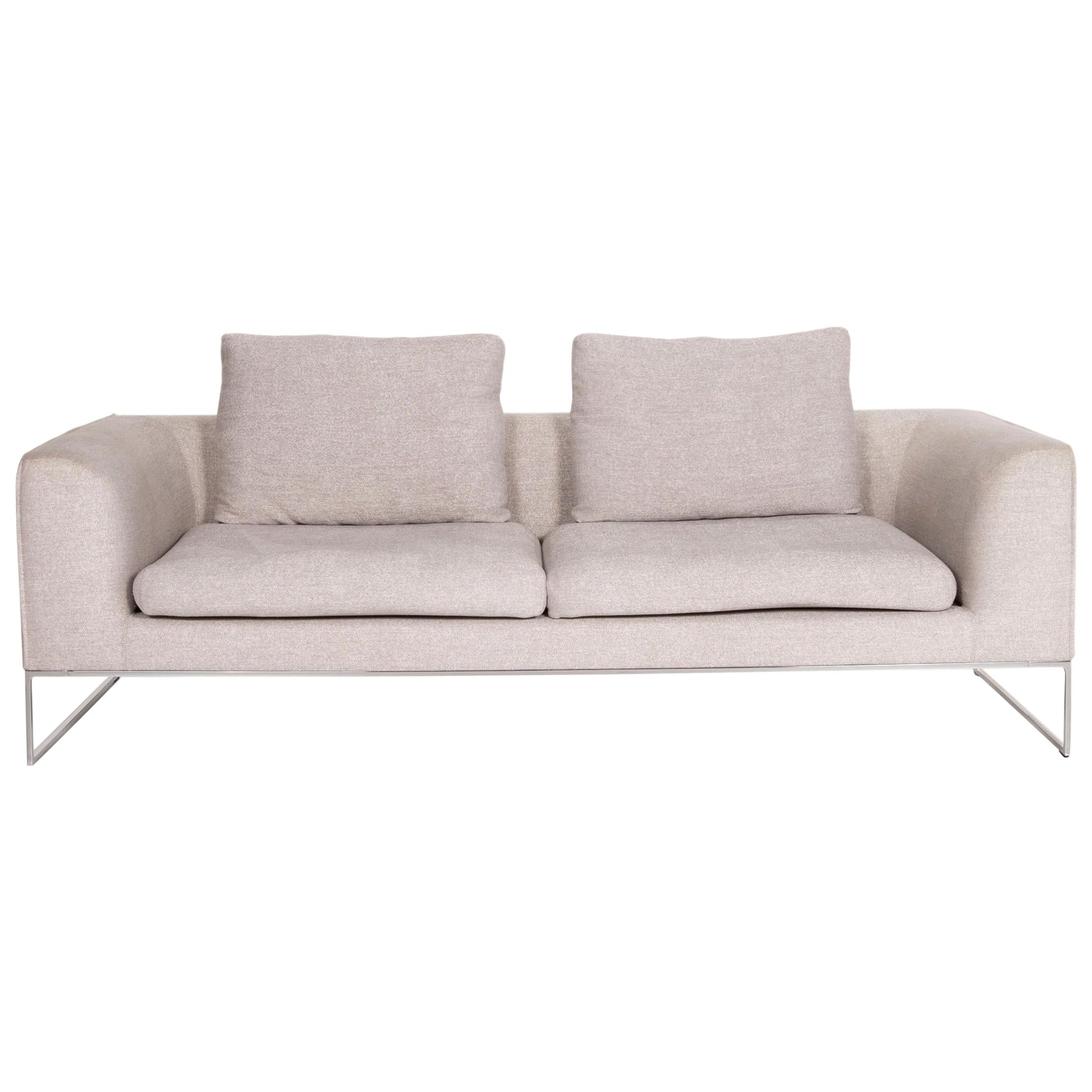 COR Mell Fabric Sofa Gray Two-Seater