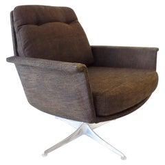 COR Sedia Lounge Chair by Horst Brüning, Brown/Bronze, Mid-Century Modern