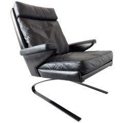 COR Swing Lounge Chair Black/Black