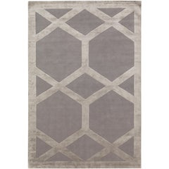 Cora Hand-Knotted 10x8 Rug in Wool and Silk by Suzanne Sharp