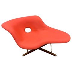 Pink Coral La Chaise Chair by Charles & Ray Eames for Vitra Mid-Century Style