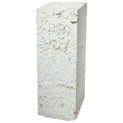 Coral Column Pedestal Organic Vintage