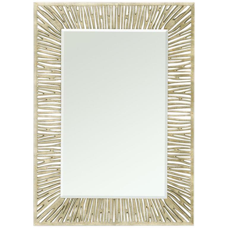 Coral Silver Mirror