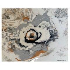 """Corbassière, """"Composition"""", Oil on Canvas, 1997"""