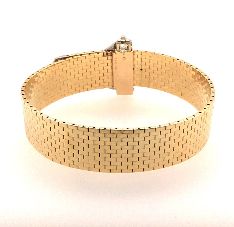 Women's or Men's Corbett & Bertolone Gold and Diamond Bracelet For Sale