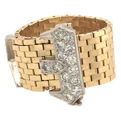Corbett & Bertolone Gold and Diamond Ring