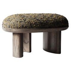 Corbu Bench 'Small' in Grey Oak by DeMuro Das