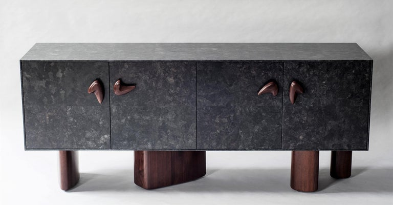 Contemporary Corbu Cabinet or Sideboard by DeMuro Das For Sale