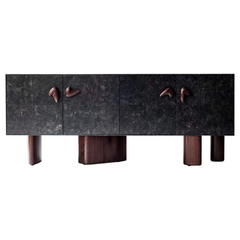 Corbu Cabinet or Sideboard by DeMuro Das For Sale