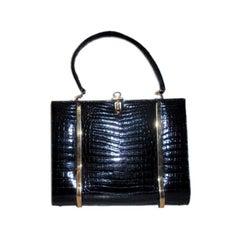 Cordoba Alligator Handbag, Circa 1960's
