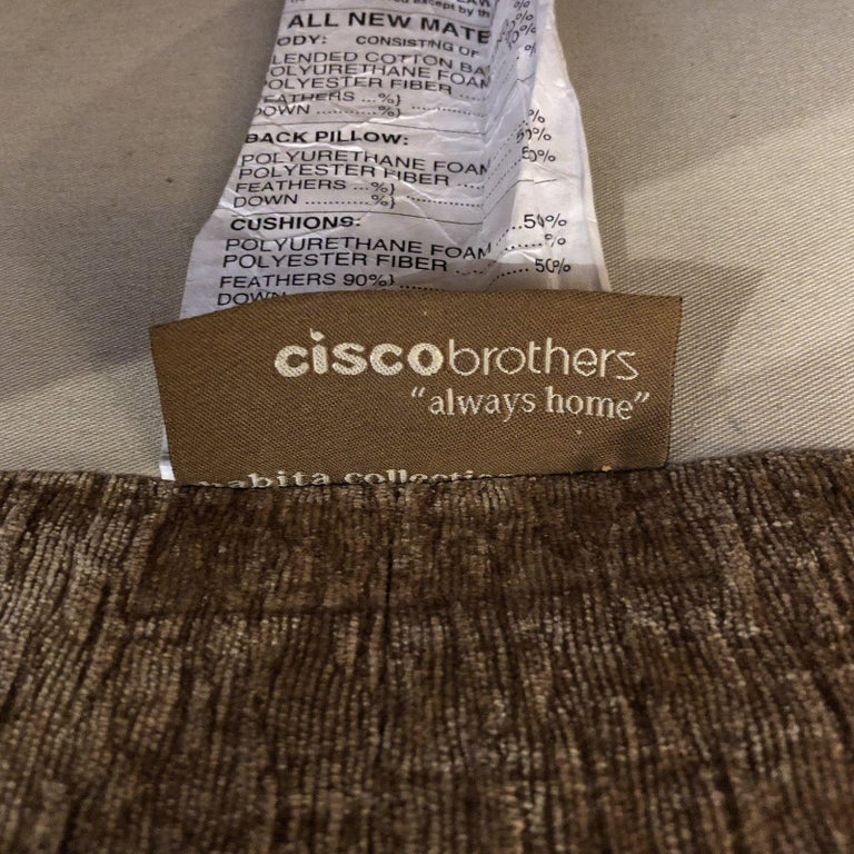 Cordova Down Wrapped Sofa, by Cisco Brothers For Sale 3