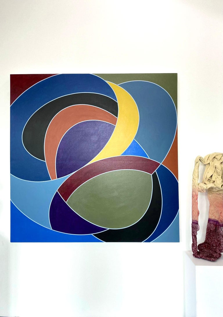 Tango Interlude #25 - Painting by Corey Postiglione
