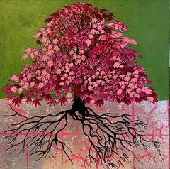 French Contemporary Art by Corine Lescop - Erable Multicolore