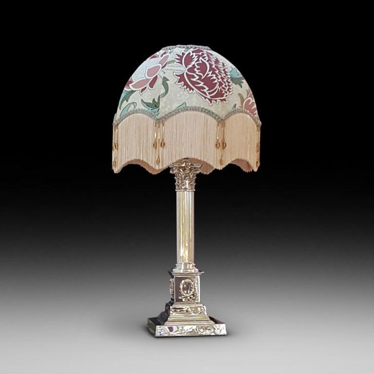 Corinthian Column Table Lamp At 1stdibs