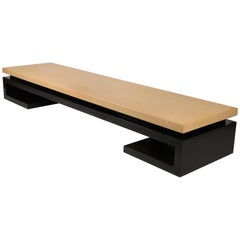 Cork Top Bench by Paul Frankl