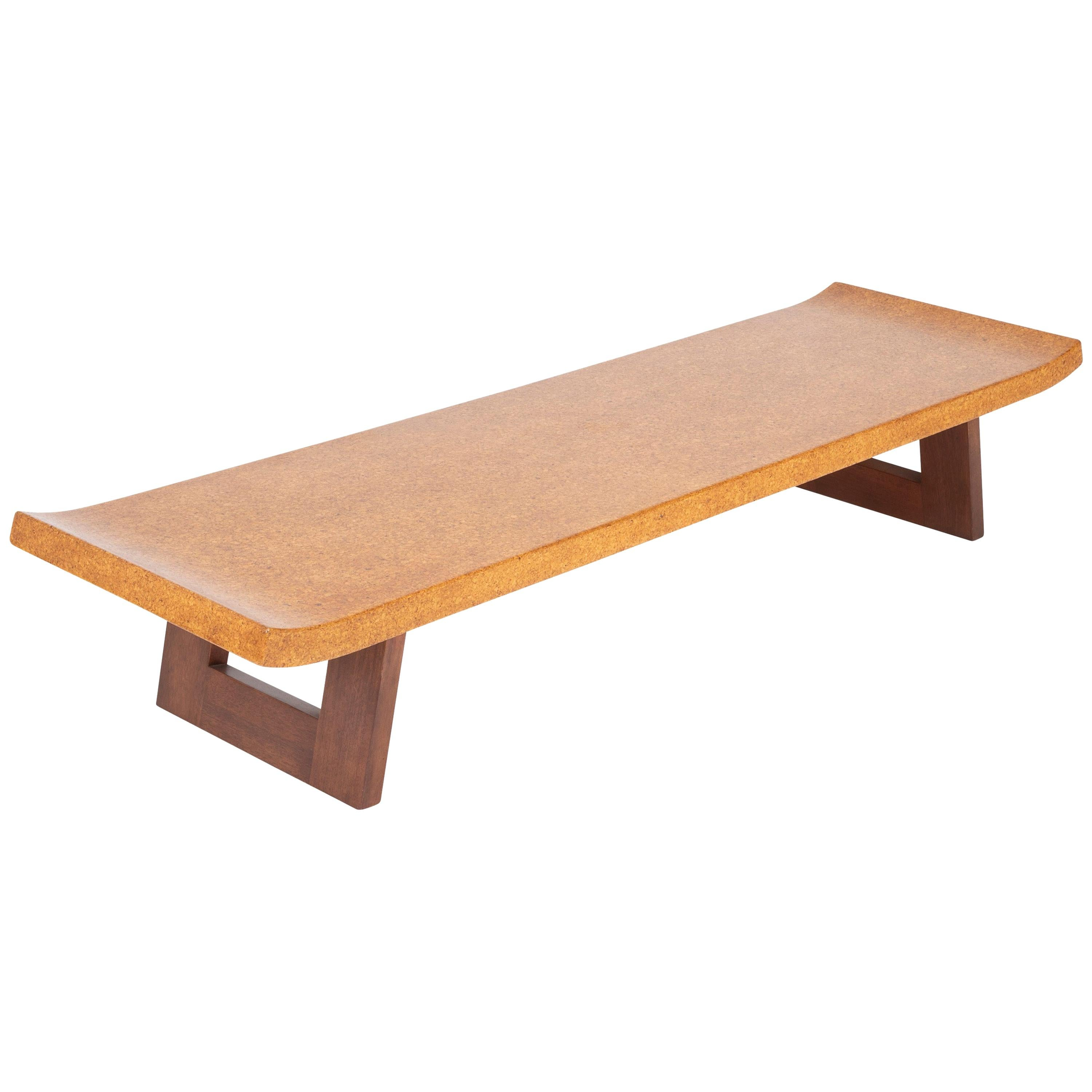 Cork Top Coffee Table by Paul Frankl