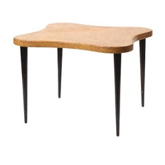 Cork-Topped Table by Paul Frankl for Johnson Furniture Co.