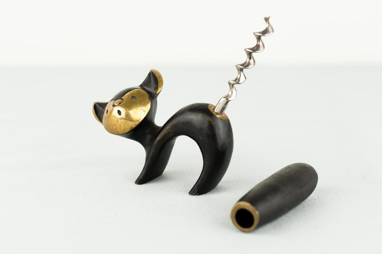 Blackened Corkscrew by Walter Bosse for Hertha Baller, Austria For Sale