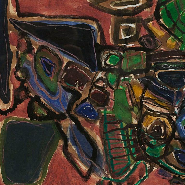 Danish Corneille 'COBRA' Painting For Sale