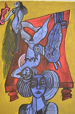 Les trois femmes bleues