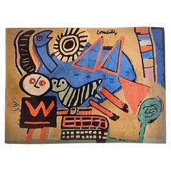 Corneille Wool Carpet, 1980