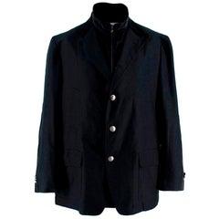 Corneliani Men's Wool Navy Blazer - Size L EU 56R