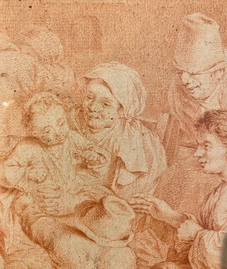 Documents indicate that Cornelis Pietersz Bega was born in either 1631 or 1632 in Haarlem. His grandfather was the renowned history painter Cornelis Cornelisz van Haarlem (Dutch, 1562 - 1638), and his extended family included many other more minor