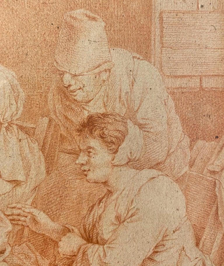 Peasant Family, Cornelis Bega. Dutch Golden age painter and engraver. For Sale 1