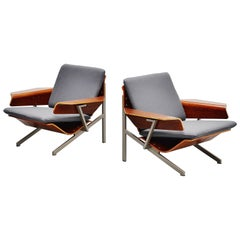 Cornelis Zitman FM50 Lounge Chairs Pastoe 1964