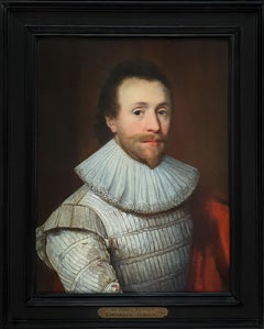 Portrait of a Gentleman in a White Slashed Doublet c.1620, Sir Walter Raleigh