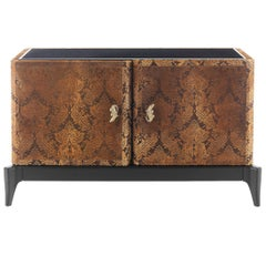 Corner 2-Door Sideboard in Beechwood by Roberto Cavalli