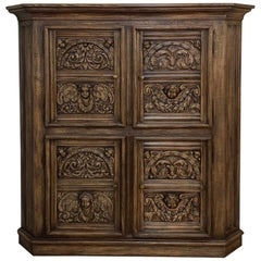 Corner Cabinet, Early 19th Century French Renaissance