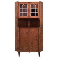Corner Cabinet Oak, Danish Design, 1960s