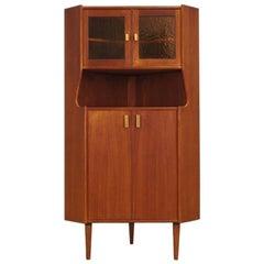 Corner Cabinet Teak 1960-1970 Danish Design