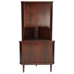 Corner Chest of Drawers in Rosewood, Scandinavia, 1960s