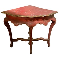 19th Century Corner Console from France