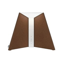 Corner Office Table Lamp 15 in Chestnut by Pablo Designs