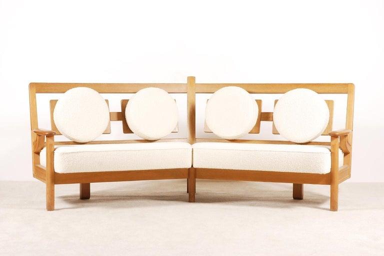 Mid-Century Modern Corner Sofa model