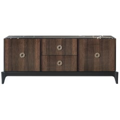 Corner.2 Sideboard with 2-Door and 2 Drawers in Wood by Roberto Cavalli
