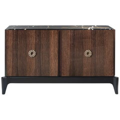 Corner.2 Sideboard with 2-Door in Beechwood by Roberto Cavalli