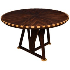 Coromandel Inlaid Breakfast Table