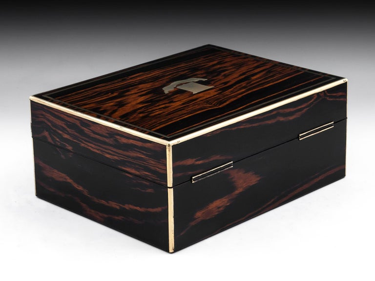 Coromandel Jewelry Box, 19th Century In Good Condition For Sale In Northampton, United Kingdom