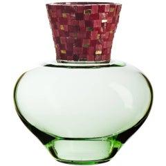 Corona C Green Vase