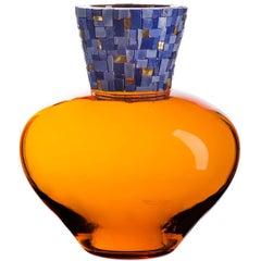 Corona C Orange Vase